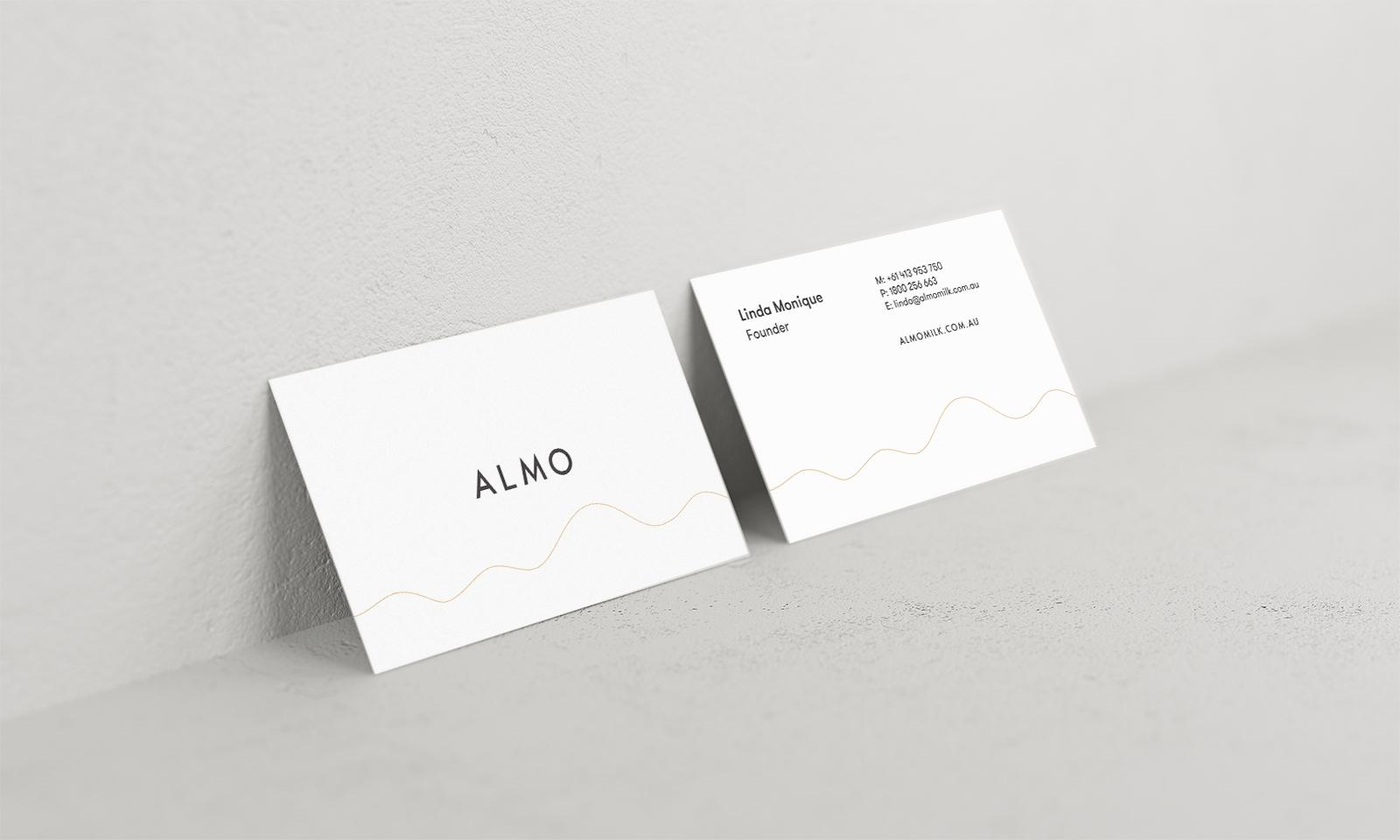 Almo Milk - Business Cards
