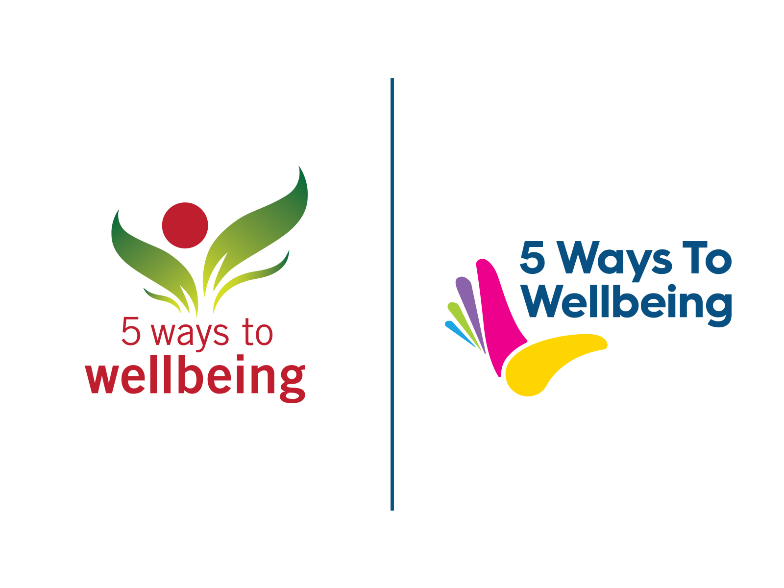 5 Ways to Wellbeing - Branding Update