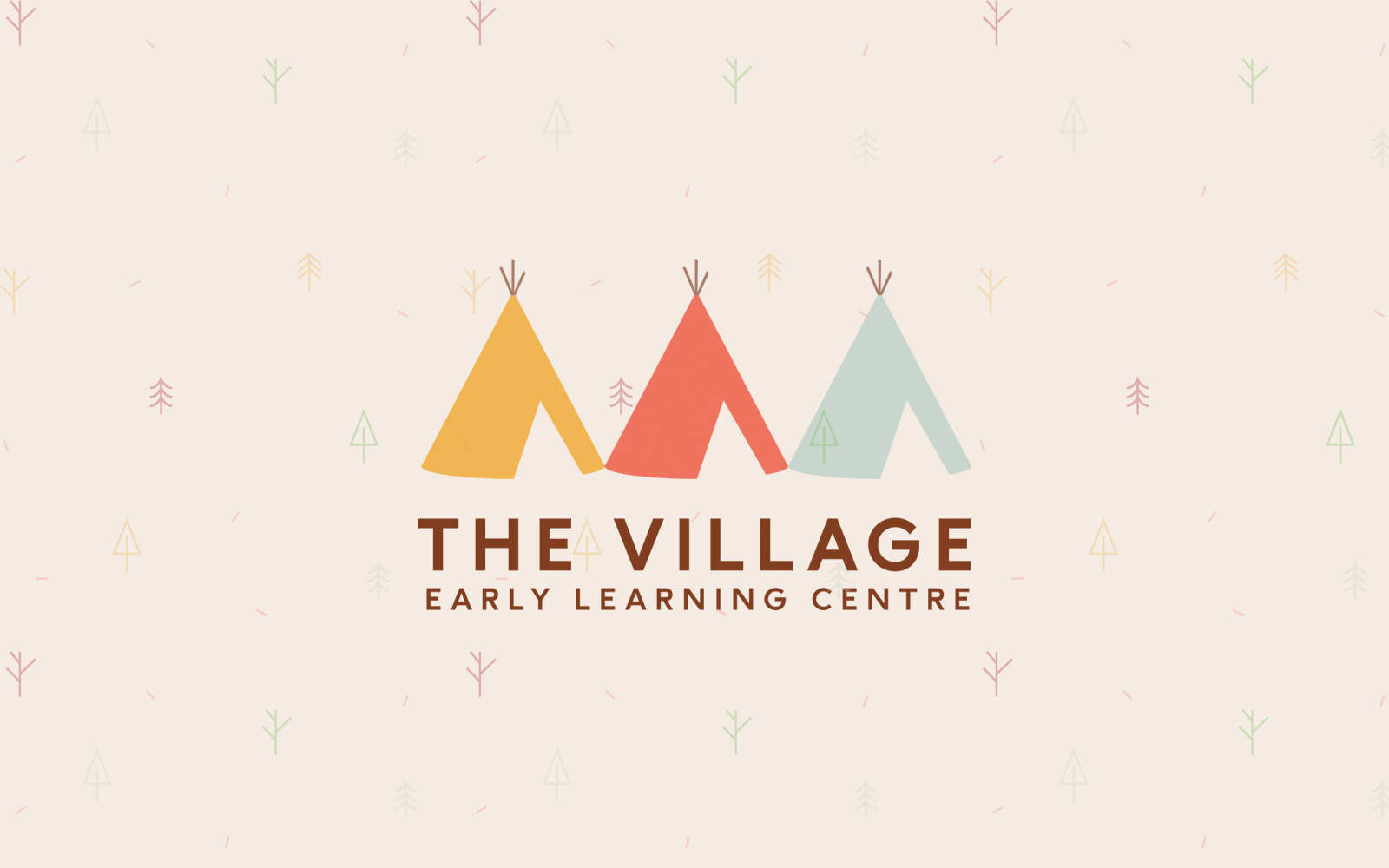 The Village ELC - Full Logo Mockup