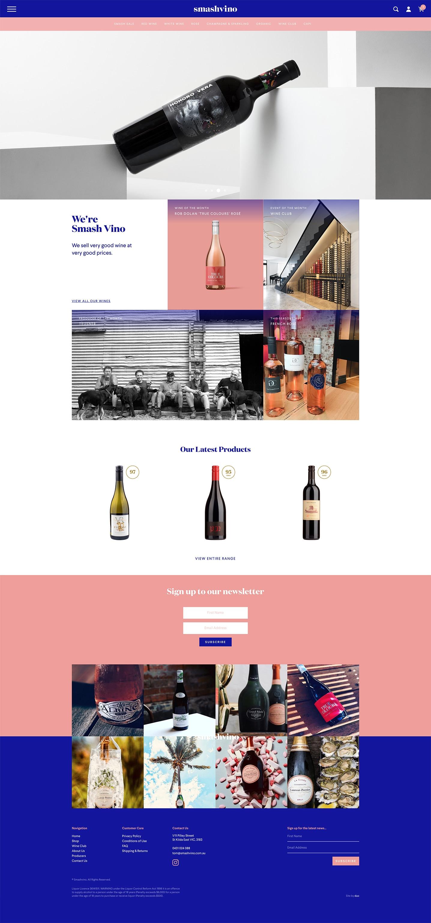 Smash Vino - Home Page